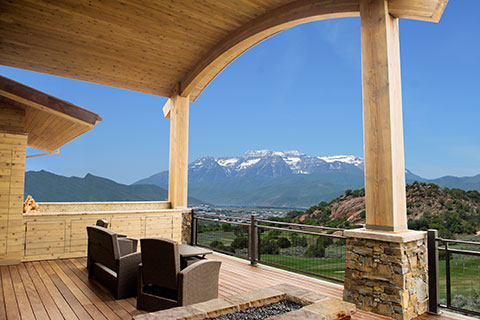 Custom Home by Kevin Price in Red Ledges near Park City, Utah