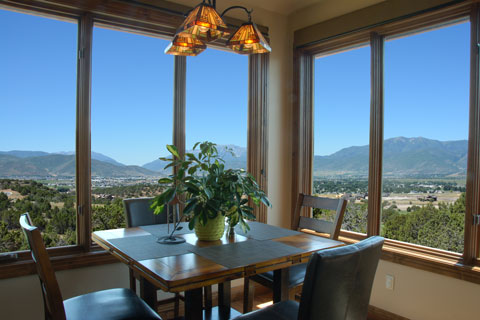 Kevin Price Designs - Red Ledges 89 near Park City, Utah Dining Room with a View