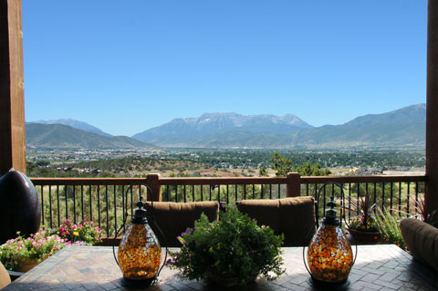 Kevin Price Designs - Red Ledges 89 near Park City, Utah Patio with a View