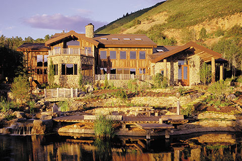 Kevin Price Designs Project - Aspen Springs Ranch in Park City, Utah