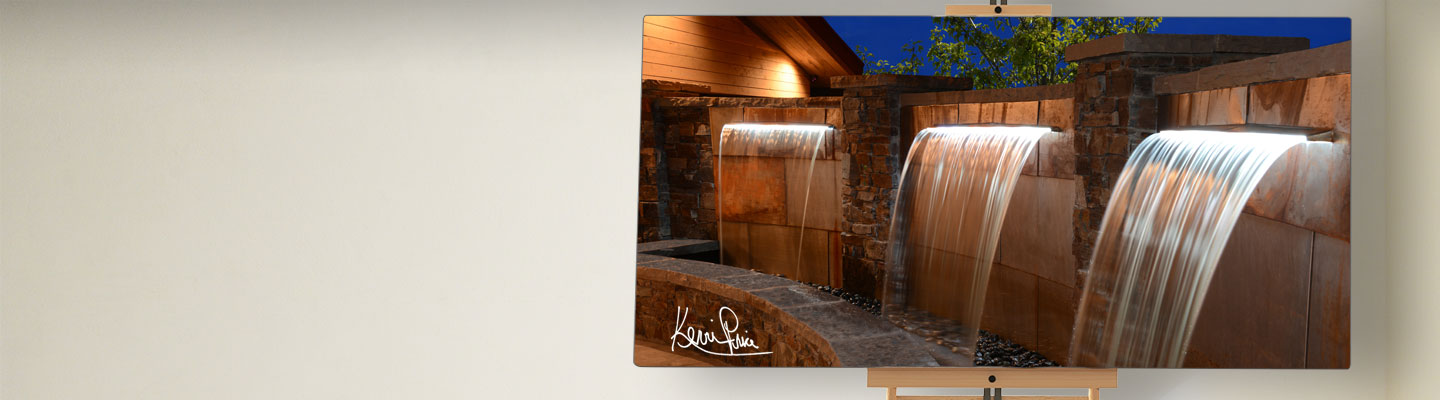 Kevin Price Designs - Red Ledges near Park City, Utah Water Feature