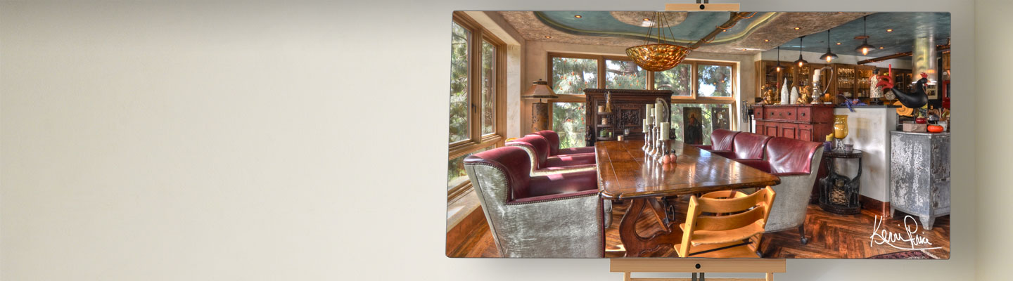 Kevin Price Designs - Laguna Niguel African Dining Room