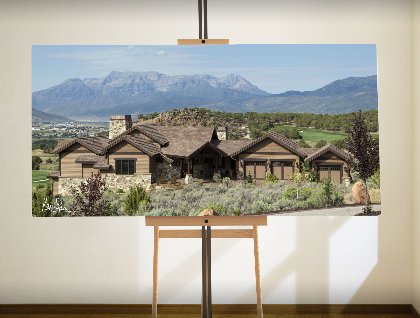 Kevin Price Designs Red Ledges near Park City, Utah Home