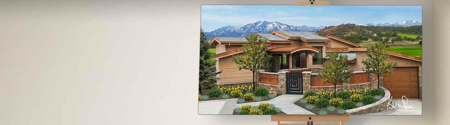 Kevin Price Designs - Red Ledges 110 near Park City, Utah