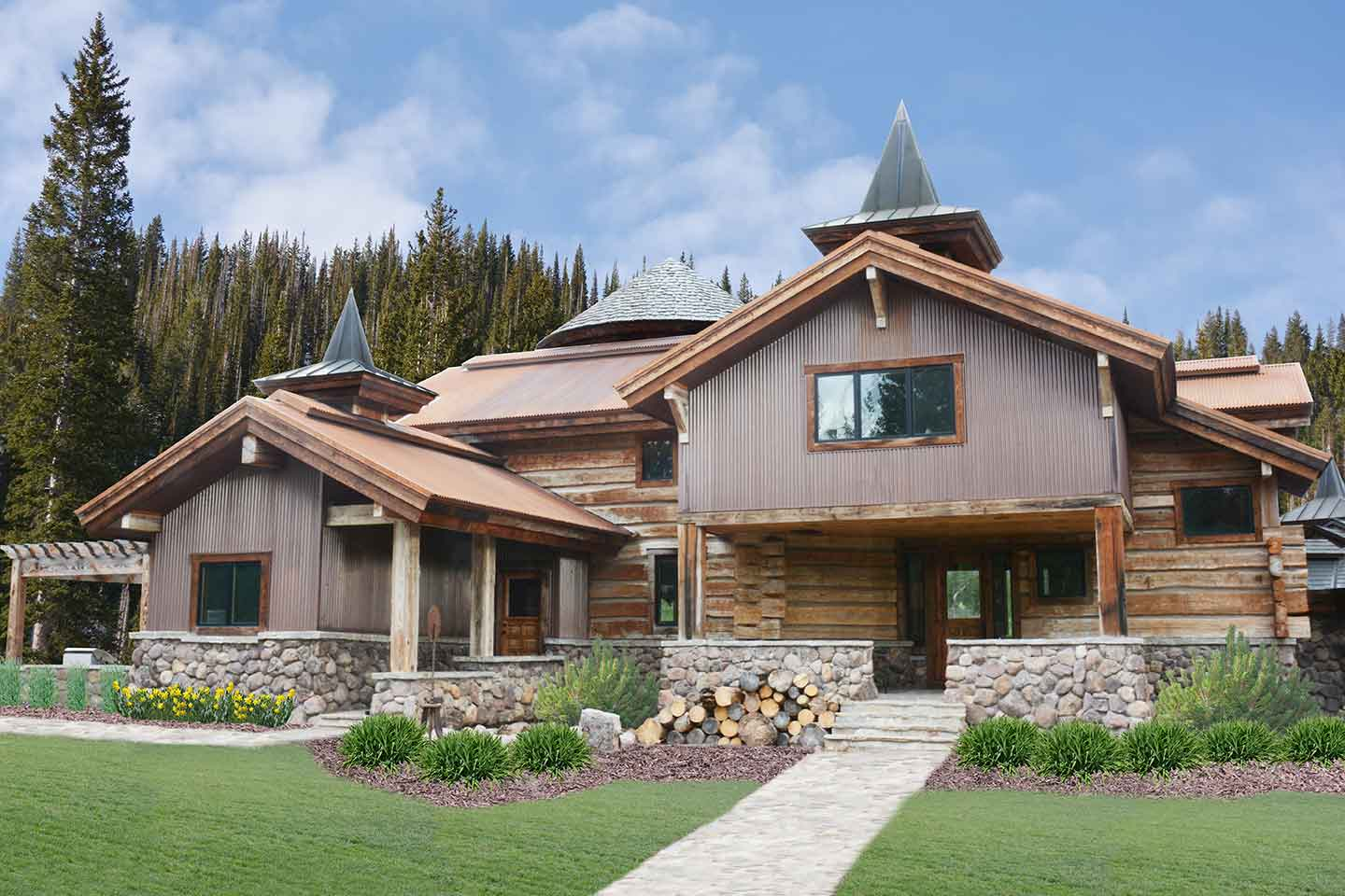 Uinta Mountains Custom Home by Kevin Price Designs ...
