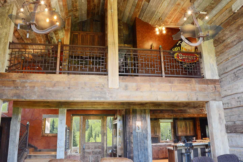 Uinta Mountains Custom Home Interior